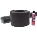 Casino Supply Poker Table Rail Foam Kit: Black