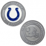 Challenge Coin Card Guard - Indianapolis Colts
