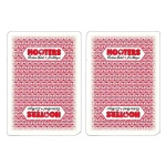 Single Deck Used in Casino Playing Cards - Hooters