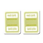 Single Deck Used in Casino Playing Cards - Red Rock