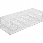 Acrylic Chip Tray WITH Lid
