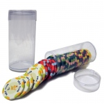 Clear Plastic Chip Tube