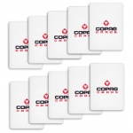 Set of 10 Copag Poker Size Cut Cards