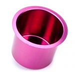 Vivid Red Aluminum Cup Holder