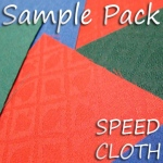 Sample Pack of Speed Cloth - Cotton & Polyester