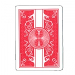 100% Plastic Bicycle Prestige Red Poker Size Playing Cards