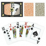 Copag 1546 Poker Orange/Brown Jumbo