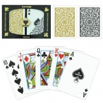 Copag 1546 Poker Black/Gold  Regular