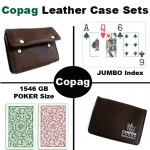 1546 GB Poker Jumbo Leather Case