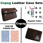 1546 RB Poker Regular Leather Case