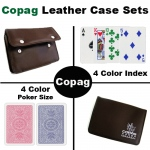 4 color Poker Regular Leather Case