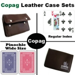 Copag RB Wide Pinochle Leather Case