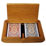 Wooden Box Set Paisley Narrow Regular