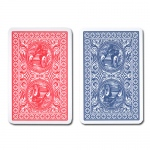 Modiano Golden Trophy Jumbo Poker Red/Blue