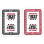 Modiano WSOP Plastic Playing Cards - Black/Red Decks