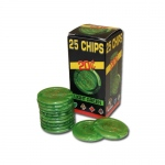 25 Pack of Modiano Composite Chips 4 gram - .20¢ (cent)