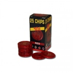 25 Pack of Modiano Composite Chips 4 gram - €10