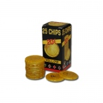 25 Pack of Modiano Composite Chips 4 gram - €20