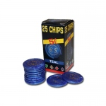 25 Pack of Modiano Composite Chips 4 gram - €5
