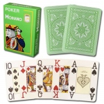 Modiano Cristallo Poker Size, 4 PIP Jumbo Light Green