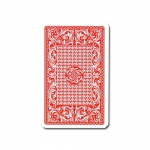 100% Plastic Red Skat Playing Card Deck