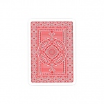 Modiano Platinum Poker Jumbo Single Deck - Red