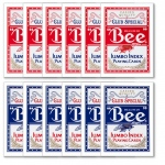 12 Bee No. 92 Diamond Back Club Special Red/Blue Decks Jumbo