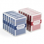 12 Decks (6 Red/6 Blue) Brybelly Cards (Wide/Jumbo)