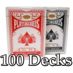 100 Decks Brybelly Playing Cards (Wide Size Standard Index)