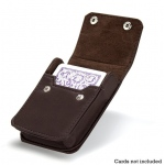Single Deck Leather Case
