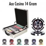 500 Ct - Pre-Packaged - Ace Casino 14 Gram - Claysmith