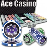 750 Ct - Pre-Packaged - Ace Casino 14 Gram - Aluminum