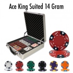 500 Ct - Pre-Packaged - Ace King Suited 14 G - Claysmith