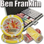 1,000 Ct - Pre-Packaged - Ben Franklin 14 G - Aluminum