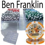 200 Ct - Pre-Packaged - Ben Franklin 14 G - Acrylic Tray
