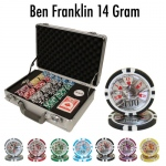 300 Ct - Pre-Packaged - Ben Fraklin 14 G - Claysmith Case