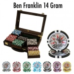 300 Ct - Pre-Packaged - Ben Fraklin 14 G - Walnut