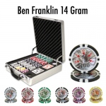 500 Ct - Pre-Packaged - Ben Franklin 14 Gram - Claysmith