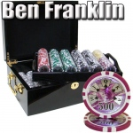 500 Ct - Pre-Packaged - Ben Franklin 14 G - Black Mahogany