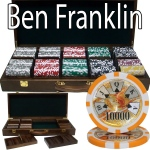 500 Ct - Pre-Packaged - Ben Franklin 14 G - Walnut Case