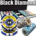 750 Ct. Black Diamond Poker Chip 14 gram - 9 denominations