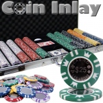 750 Ct Aluminum Pre-Packaged - Coin Inlay 15 Gram Chips