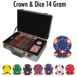 300 Ct - Pre-Packaged - Crown & Dice - Claysmith