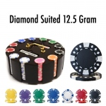 300 Ct - Pre-Packaged - Diamond Suited 12.5 G Wooden