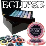 750 Ct Pre-Packaged Eclipse 14G Chip Set - Mahogany