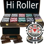 500 Ct - Pre-Packaged - Hi Roller 14 G - Walnut Case