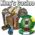 200 Ct - Pre-Packaged - Kings Casino 14 G - Carousel