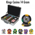 300 Ct - Pre-Packaged - Kings Casino 14 G - Claysmith