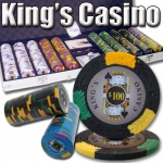 500 Ct - Pre-Packaged - Kings Casino 14 G - Aluminum