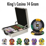500 Ct - Pre-Packaged - King's Casino 14 G - Claysmith